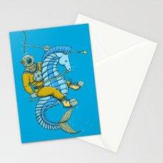 Deep Sea Hunting Stationery Cards