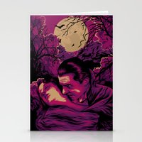 dracula Stationery Cards featuring Dracula by Denis O'Sullivan