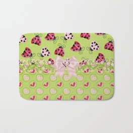 My Classic Ladybugs Bath Mat