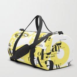 Hayworth Actress Hollywood Duffle Bag