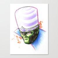 jojo Canvas Prints featuring Mojo by Creadoorm
