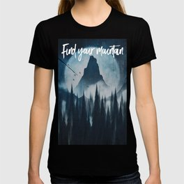Find your mountain T-shirt