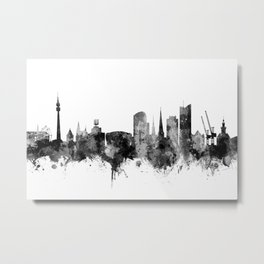 Dortmund Germany Skyline Metal Print