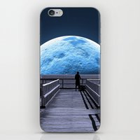 rose iPhone & iPod Skins featuring Once in a blue moon by Donuts