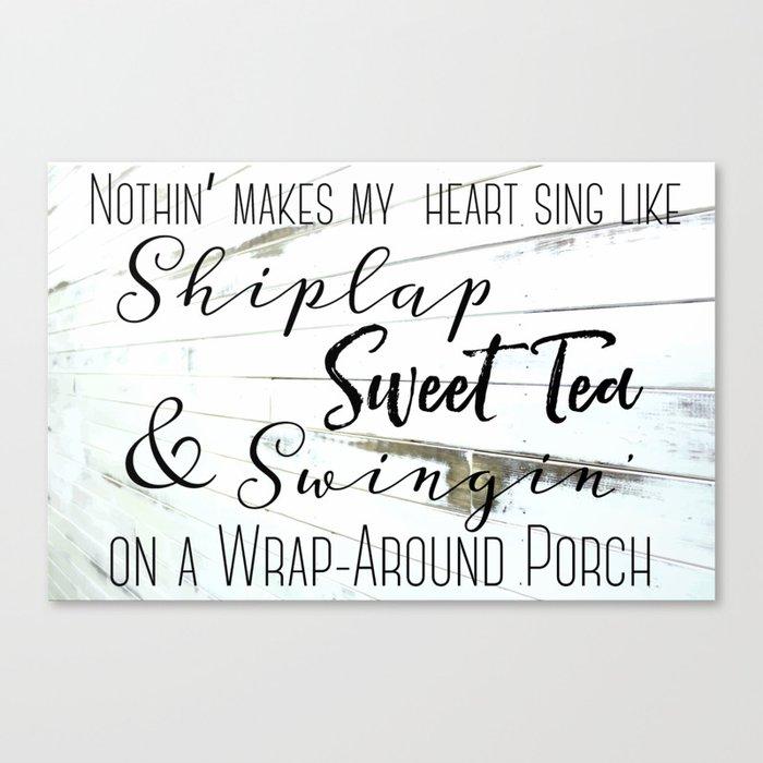 Shiplap Sweet Tea And Wrap Around
