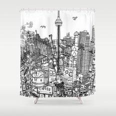 Toronto! (version #2) Shower Curtain