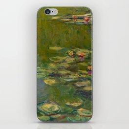 "Claude Monet ""Water lilies"" (15b) iPhone Skin"