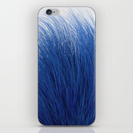 Blue Fuzz iPhone & iPod Skin