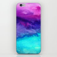 storm iPhone & iPod Skins featuring The Sound by Jacqueline Maldonado