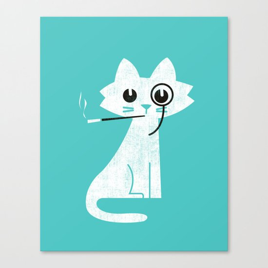 Mark - Aristo-Cat Canvas Print