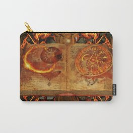 Open the Book of the Occult Carry-All Pouch