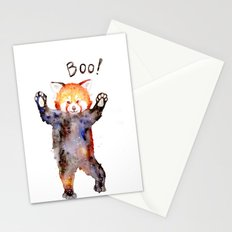 red panda Stationery Cards
