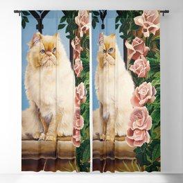 Rose Blackout Curtain