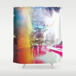 Light Leak Shower Curtain