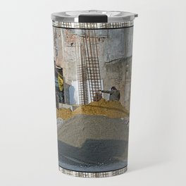 CONSTRUCTION SITE POKHARA NEPAL Travel Mug