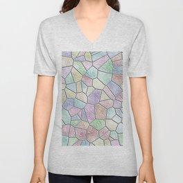 Mosaic LORA,candy Unisex V-Neck