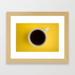 Coffee Cup Framed Art Print