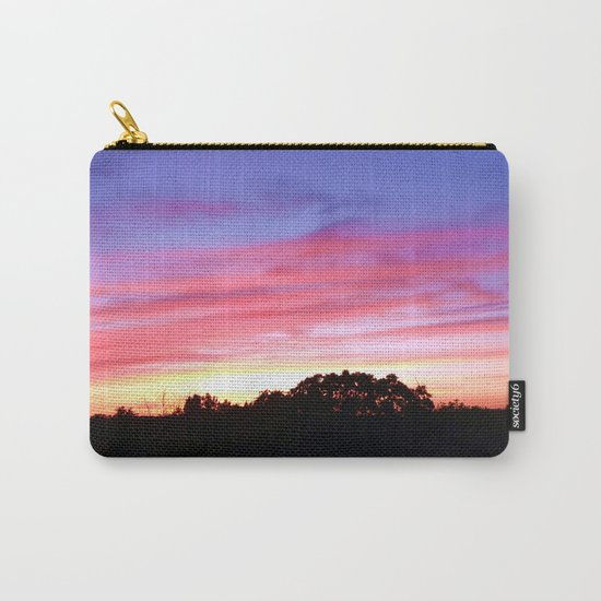 Wisconsin Sunset Carry-All Pouch