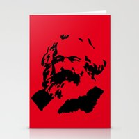 marx Stationery Cards featuring Marx by muffa