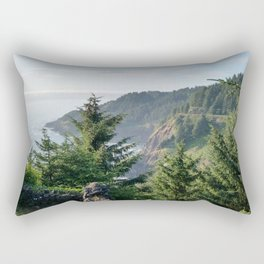 Cape Foulweather Vantage Point Rectangular Pillow
