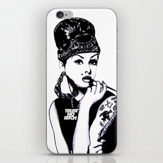 Audrey Hepburn. Rebel: Chola. iPhone & iPod Skin