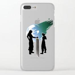 Final Fantasy VII - Sword Of Fantasy Clear iPhone Case