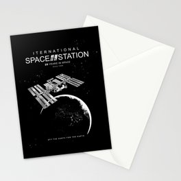 ISS-International Space Station-NSA-ESA-Soyuz-Space Shuttle-Astronomy Stationery Cards