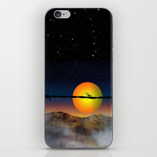 Step out of your comfort zone iPhone & iPod Skin