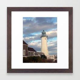 Lighthouse Watch Framed Art Print