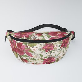 POINSETTIA - FLOWER OF THE HOLY NIGHT Fanny Pack