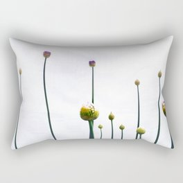 flowering onions Rectangular Pillow