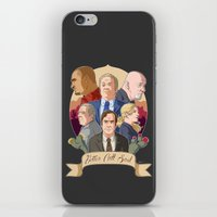 better call saul iPhone & iPod Skins featuring Better Call Saul by NessaSan