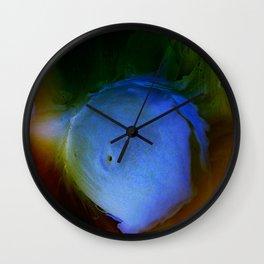 Blue Orb Wall Clock