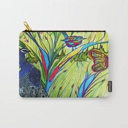 Peacock In Dreamland Carry-All Pouch