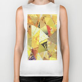 Collage - They Call Me Mellow Yellow Biker Tank