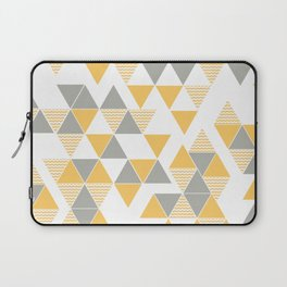 Abstract Triangles Laptop Sleeve