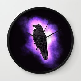 Raven Energy Wall Clock