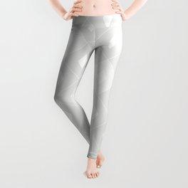 Harlequins Pattern - Ghost White Leggings