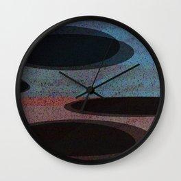 GLITTER eclipses Wall Clock