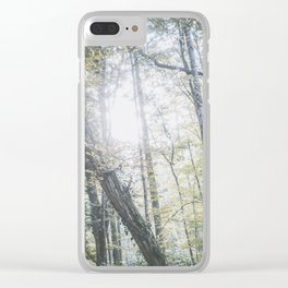 Forest (V) Clear iPhone Case
