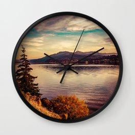 Serenity Lake Wall Clock