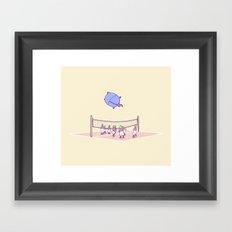 OompaBall Framed Art Print