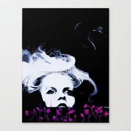 The Beauty of Despair #3 Canvas Print