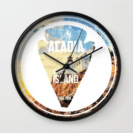 Acadia Wall Clock