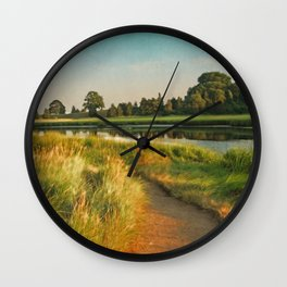 Cape Cod Eastham Eventide Number Two Wall Clock