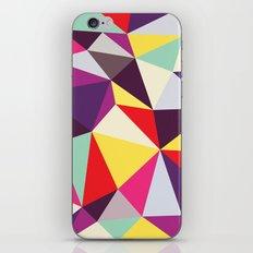 Disco Tris iPhone & iPod Skin