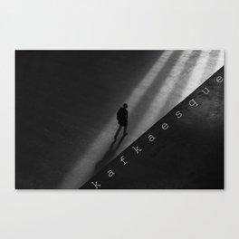 Kafkaesque Canvas Print