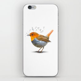 Sing-along with Robin iPhone Skin