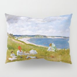 William Merritt Chase - Idle Hours - Digital Remastered Edition Pillow Sham