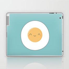 Kawaii Cute Fried Eggs Breakfast Laptop & iPad Skin
